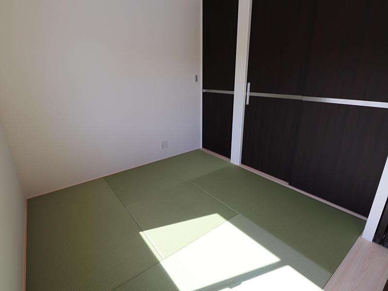 フォーセンス完成 イ草色の畳|滋賀で家を建てるなら匠工房