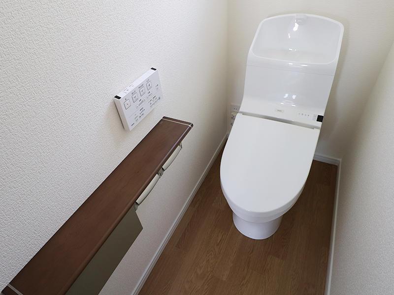 フォーセンス完成 2階 トイレ|滋賀で家を建てるなら匠工房