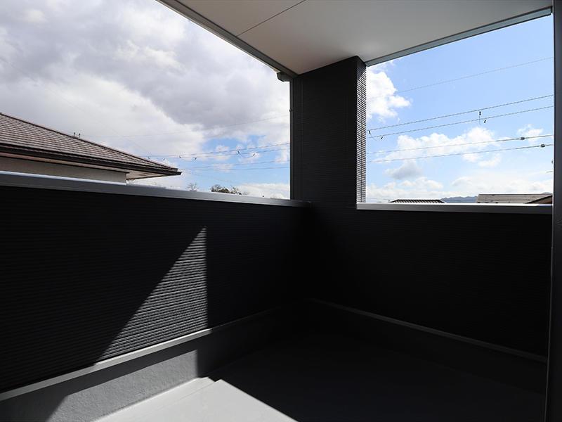 フォーセンス完成 バルコニー|滋賀で家を建てるなら匠工房