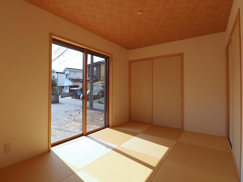 和室 畳は落ち着いた色合いをチョイス
