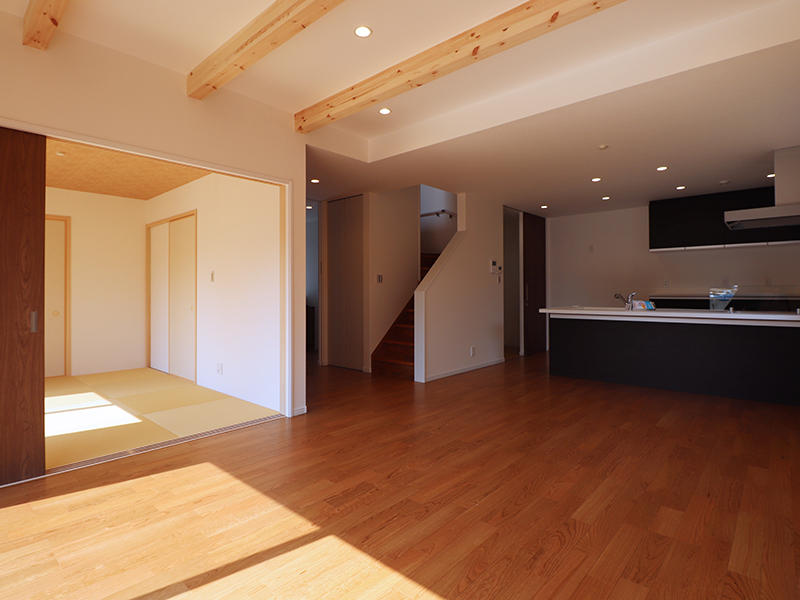 LDK+和室 リビング・ダイニング・キッチン・和室