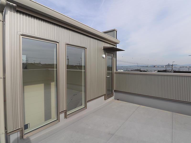 新築フォーセンス完成 屋上庭園|滋賀で家を建てるなら匠工房
