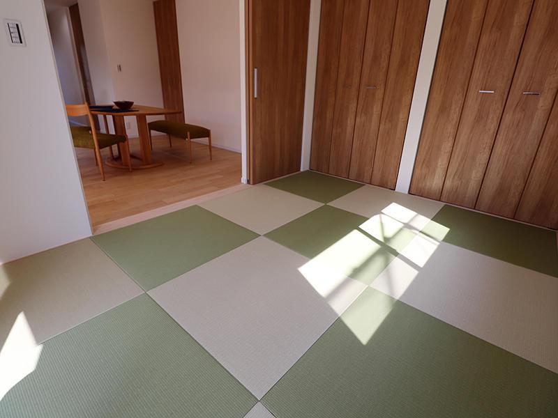 新築ゼロキューブ完成 たたみ|滋賀で家を建てるなら匠工房