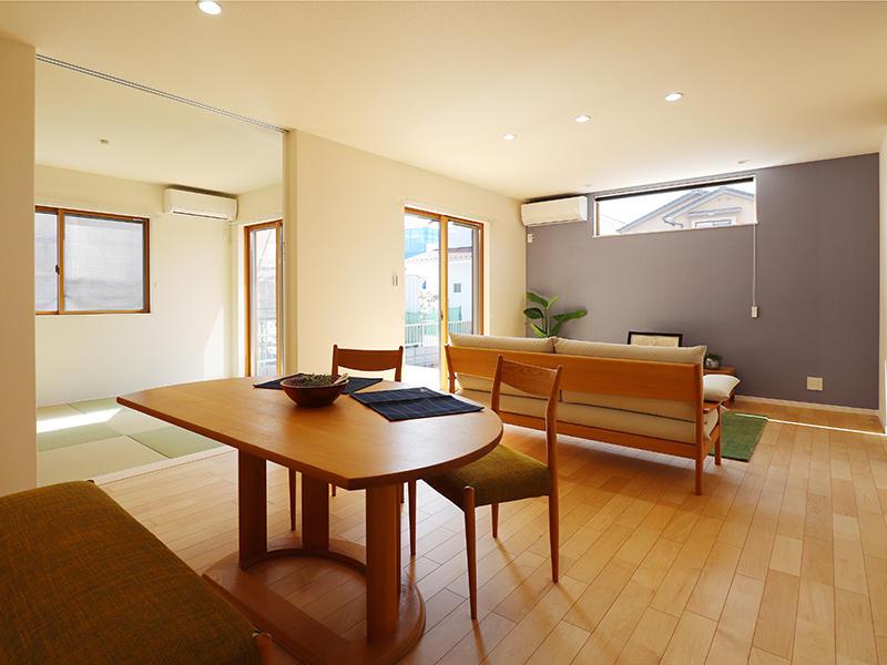 新築ゼロキューブ完成 リビング・ダイニング|滋賀で家を建てるなら匠工房