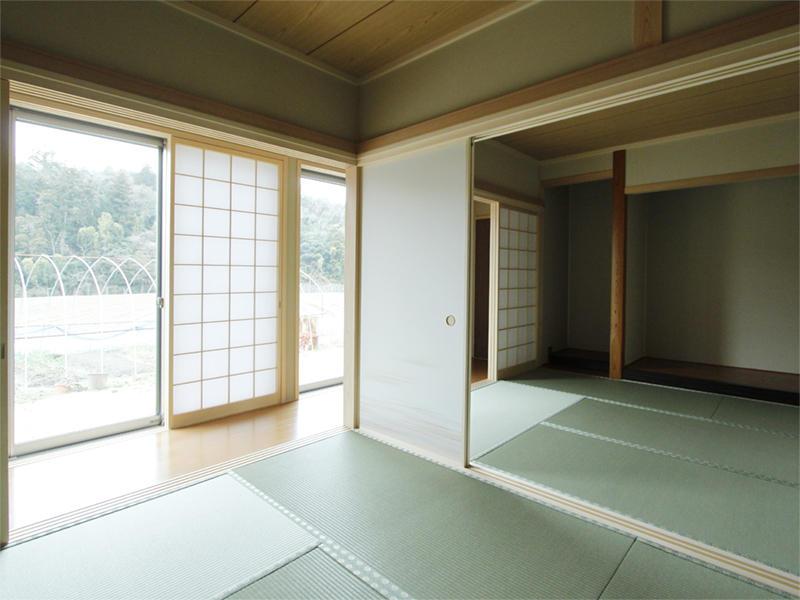 新築 施工事例 和室 内装