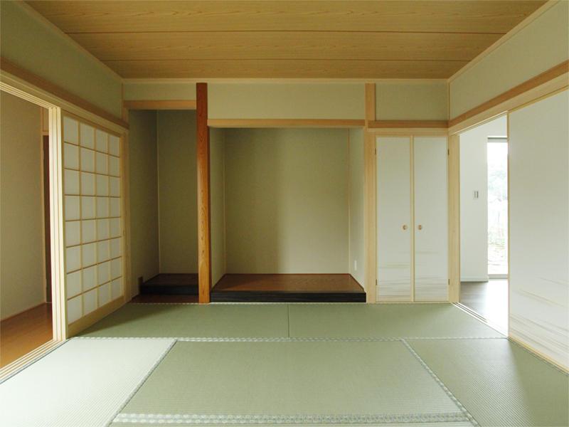 和室 施工事例 畳 襖