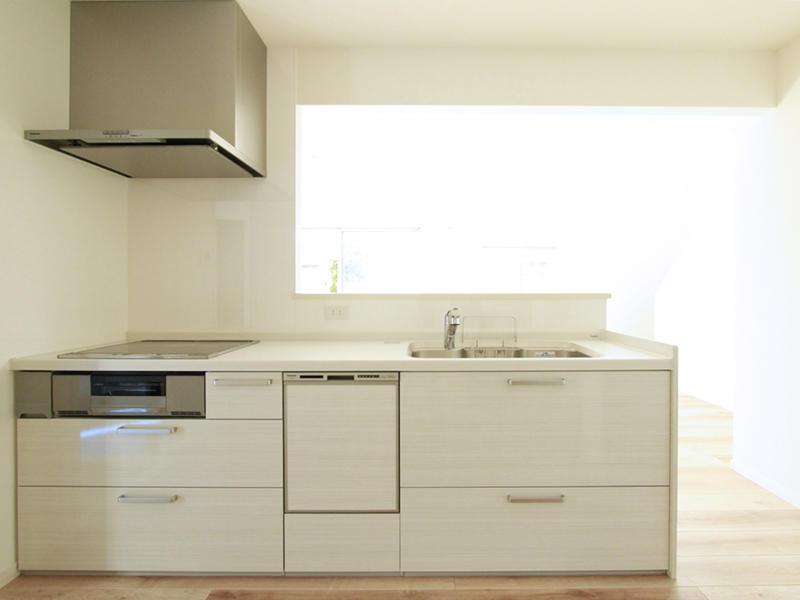 対面 キッチン スペース 施工事例