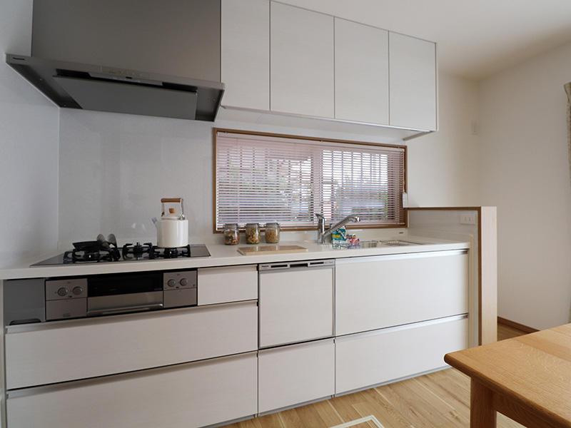 新築フォーセンス完成 システムキッチン|滋賀で家を建てるなら匠工房