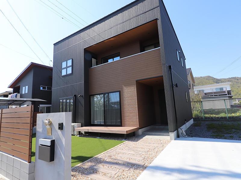 フォーセンス完成 外観|滋賀で家を建てるなら匠工房