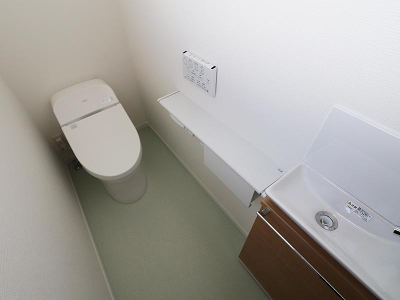 フォーセンス新築完成 トイレ|滋賀で家を建てるなら匠工房