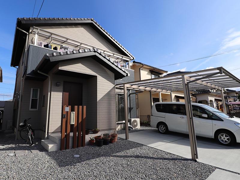 フォーセンス完成 玄関スペース|滋賀で新築建てるなら匠工房