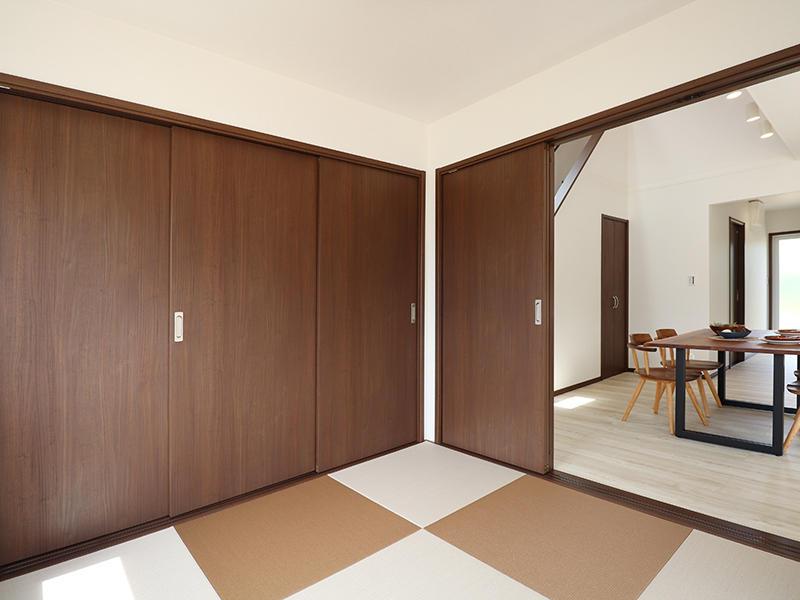 新築ゼロキューブ完成 和室|滋賀で家を建てるなら匠工房