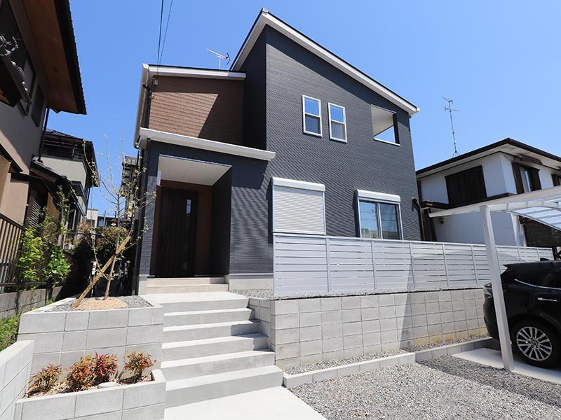 フォーセンス完成 アプローチ|滋賀で家を建てるなら匠工房