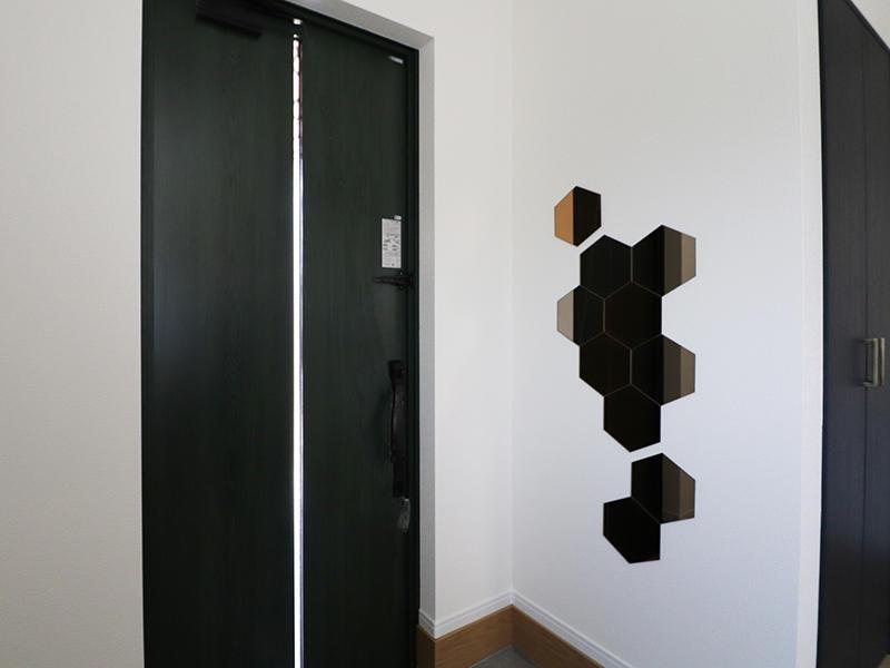 フォーセンス完成 玄関|滋賀で家を建てるなら匠工房