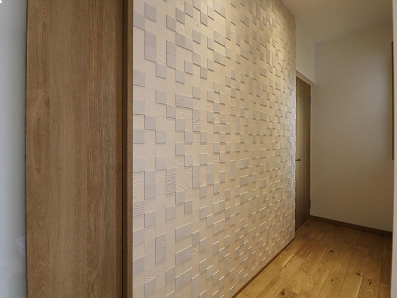 新築フォーセンス完成 廊下|滋賀で家を建てるなら匠工房