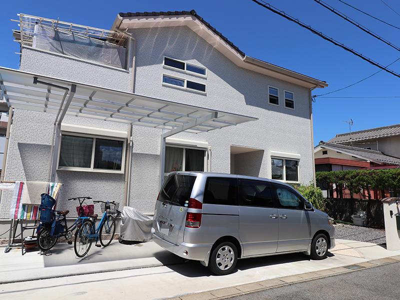 フォーセンス新築完成 外構|滋賀で家を建てるなら匠工房