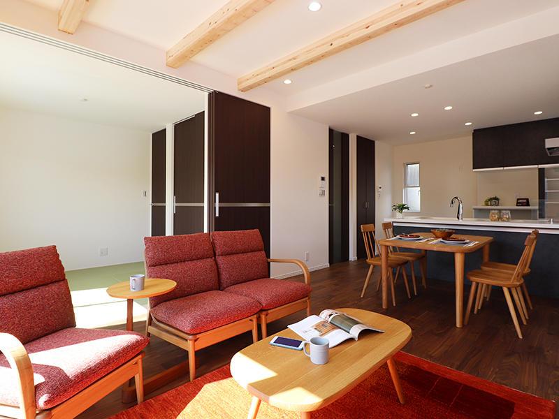 フォーセンス完成 LDK|滋賀で家を建てるなら匠工房