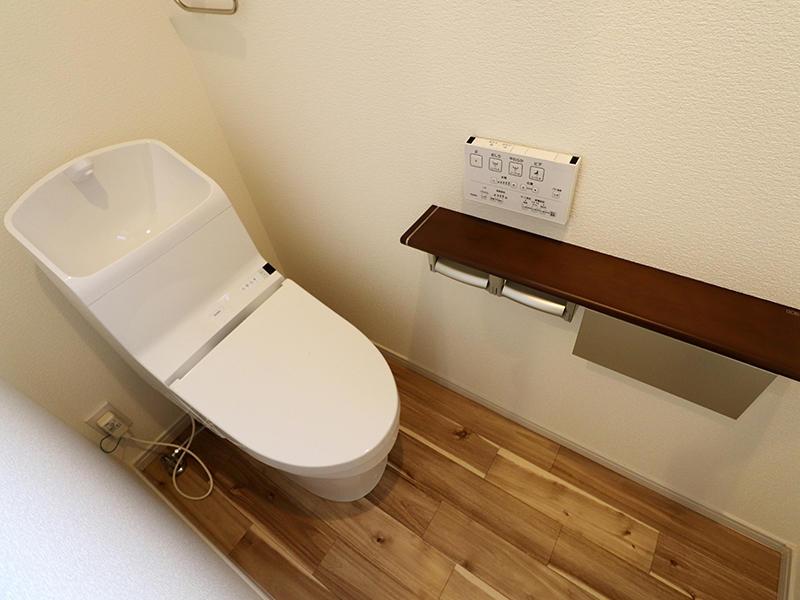 フォーセンス完成 2階トイレ|滋賀で新築建てるなら匠工房
