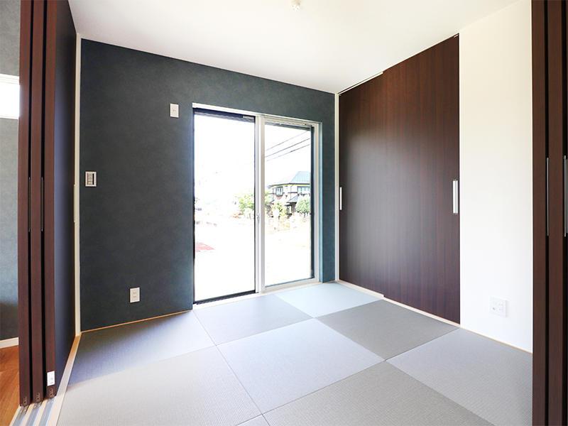 フォーセンス新築完成 和室 たたみ|滋賀で家を建てるなら匠工房