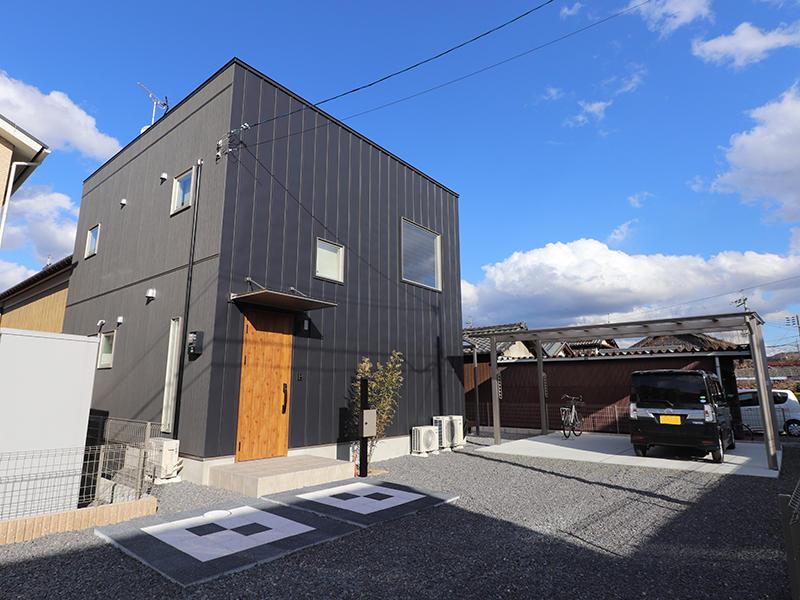 ゼロキューブ新築 外観|滋賀で家を建てるなら匠工房