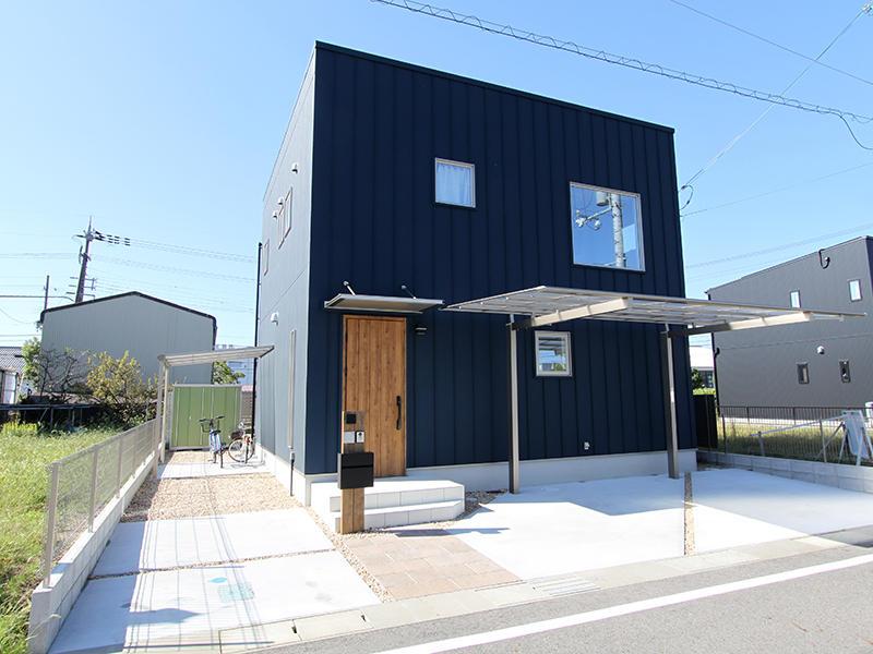 ゼロキューブ新築完成 外観|滋賀で家を建てるなら匠工房