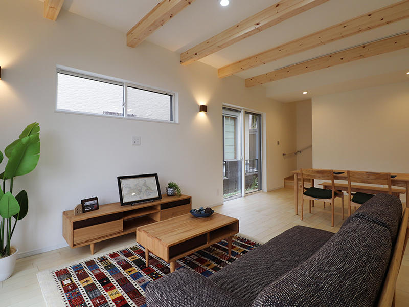 新築フォーセンス完成 LDK|滋賀で家を建てるなら