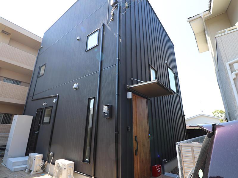 ゼロキューブ完成 外壁|滋賀で家を建てるなら匠工房