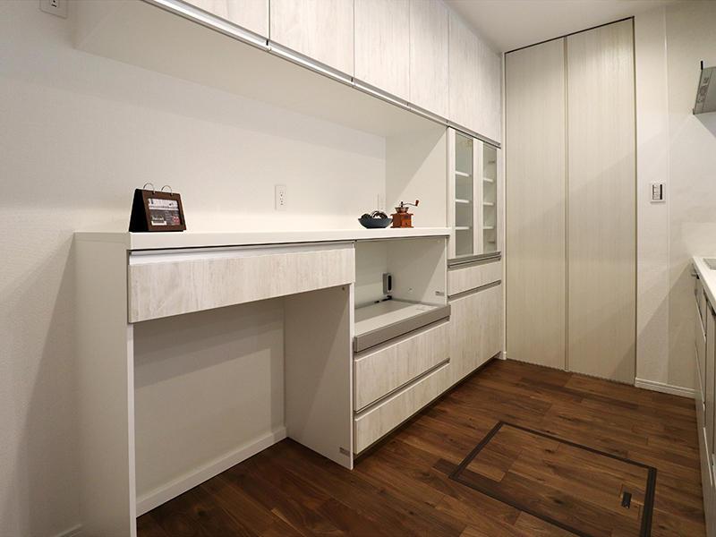 新築フォーセンス完成 カップボード|滋賀で家を建てるなら匠工房