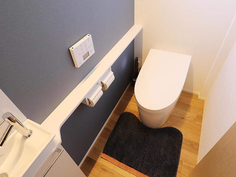新築完成 1階トイレ|滋賀で家を建てるなら匠工房